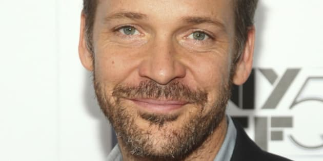 """Peter Sarsgaard attends a special screening for the """"Experimenter"""", during the New York Film Festival at Alice Tully Hall, on Tuesday, Oct. 6, 2015, in New York. (Photo by Andy Kropa/Invision/AP)"""
