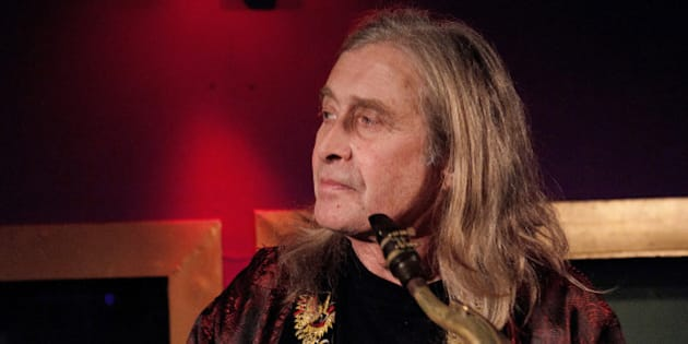 Steve MacKay performs at La Machine du Moulin Rouge on December 17, 2010 in Paris, France. (Photo by Samuel Dietz/WireImage)