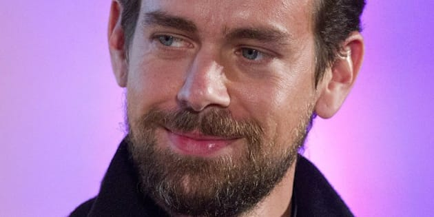Jack Dorsey, CEO of Square, Chairman of Twitter and a founder of both ,holds an event in London on November 20, 2014, where he announced the launch of Square Register mobile application. The app, which is available on Apple and Android devises, will allow merchants to track sales, inventories and other data on smartphones and tablets. AFP PHOTO / JUSTIN TALLIS        (Photo credit should read JUSTIN TALLIS/AFP/Getty Images)