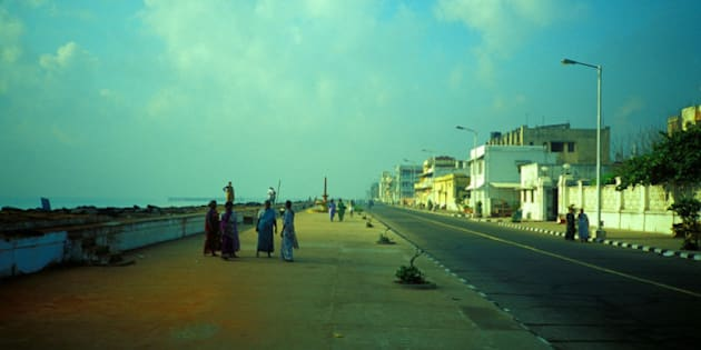 Promenade in Puducherry