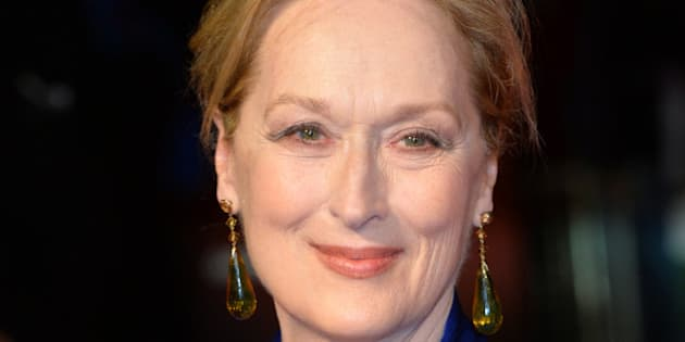 LONDON, ENGLAND - OCTOBER 07:  Meryl Streep attends a screening of 'Suffragette' on the opening night of the BFI London Film Festival at Odeon Leicester Square on October 7, 2015 in London, England.  (Photo by Anthony Harvey/Getty Images)