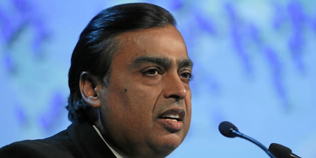 DAVOS/SWITZERLAND, 25JAN13 - Mukesh D. Ambani, Chairman and Managing Director, Reliance Industries, India; World Economic Forum Foundation Board Member speaks during the session 'Meeting Millennial Expectations' at the Annual Meeting 2013 of the World Economic Forum in Davos, Switzerland, January 25, 2013. .