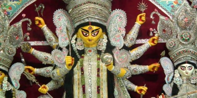 Idol Of Mother Durga