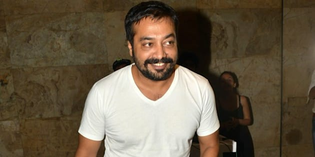 MUMBAI,INDIA MAY 19: Anurag Kashyap at the screening of his movie Tannu weds Mannu in Mumbai.(Photo by Milind Shelte/India Today Group/Getty Images)