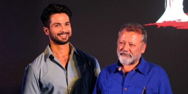 Image result for shahid kapoor and pankaj kapur