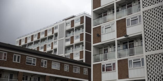 LONDON, ENGLAND - AUGUST 28:  A residential tower block in an area of Lambeth with a high concentration of social housing on August 28, 2014 in London, England. A report from the Department for Communities and Local Government has shown a significant increase in the sales of social housing under the government's Right to Buy scheme.  (Photo by Oli Scarff/Getty Images)