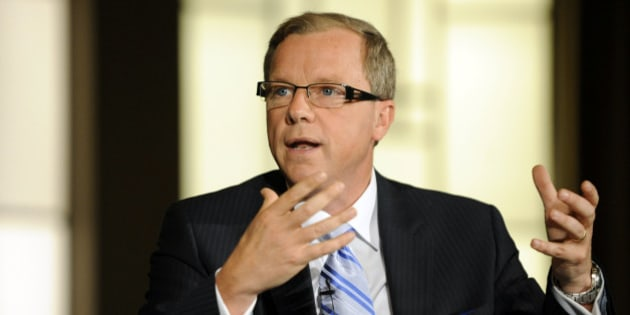 Brad Wall, premier of Saskatchewan, speaks during the Bloomberg via Getty Images Canada Economic Summit in Toronto, Ontario, Canada, on Tuesday, May 10, 2011. The Bloomberg via Getty Images Canada Economic Summit brings together government officials, business leaders and industry titans in energy, mining and banking to explore the way forward for Canada as it works to strengthen its fiscal position post-financial crisis and seeks a bigger role on the world stage. Photographer: Aaron Harris/Bloomberg via Getty Images