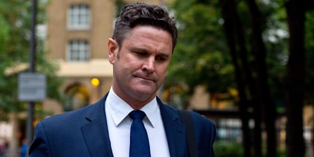 LONDON, ENGLAND - OCTOBER 15:  Chris Cairns arrives at Southwark Crown Court on October 15, 2015 in London, England. The former New Zealand cricketer Chris Cairns appeared in court today on charges of perjury and perverting the course of justice. Barrister Andrew Fitch-Holland also faces one count of preventing justice from being served.  (Photo by Ben Pruchnie/Getty Images)