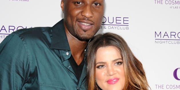 Khloe Kardashian, Lamar Odom at Khloe Kardashian and Lamar Odom Host All-Star Weekend Event, Kevin Hart's Laugh at my Pain Official After Party at Club Nokia in Los Angeles, California on February 18th, 2011 © RD /MediaPunch/IPX
