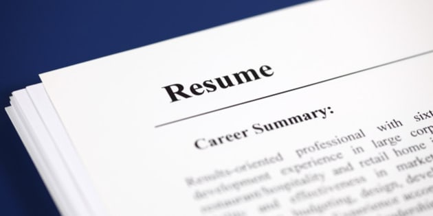 your resume needs to survive the 10