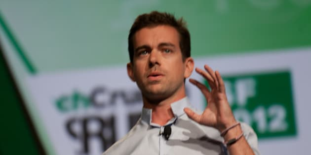 Jack Dorsey, co-founder of Twitter and founder of Square.