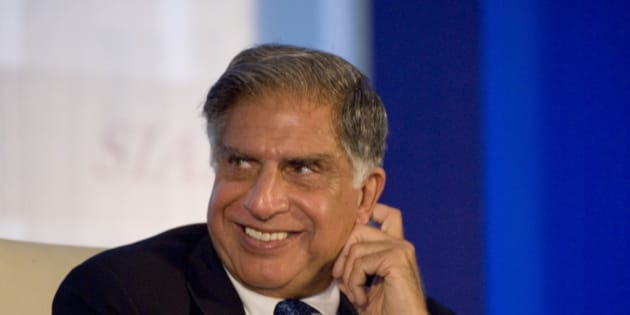 NEW DELHI, INDIA  SEPTEMBER 4: Chairman of Tata Motors Ratan Tata at the SIAM Annual Convention 2008 'India's Automotive Industry: Challenges for Leadership-2016 and beyond' held at Ashok Hotel on September 4, 2008 in New Delhi, India. (Photo by Harikrishna Katragadda/Mint via Getty Images)