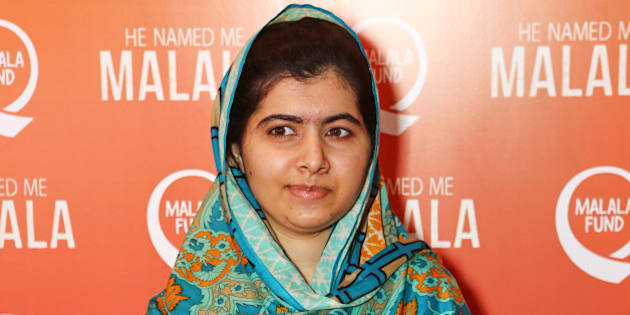 LONDON, ENGLAND - OCTOBER 22:  Malala Yousafzai attends a special screening of 'He Named Me Malala' on October 22, 2015 in London, England.  (Photo by David M. Benett/Dave Benett/Getty Images)