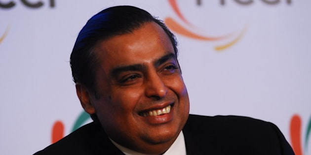 NEW DELHI, INDIA - MARCH 1: Mukesh Ambani, Chairman and Managing director of Reliance Industries at 83 AGM of FICCI, on March 1, 2011 in New Delhi, India. Mukesh Ambani (born 19 April 1957) is an Indian business magnate who is the chairman, managing director and largest shareholder of Reliance Industries Limited (RIL), a Fortune Global 500 company and India's second most valuable company by market value. (Photo by Pradeep Gaur/Mint via Getty Images)