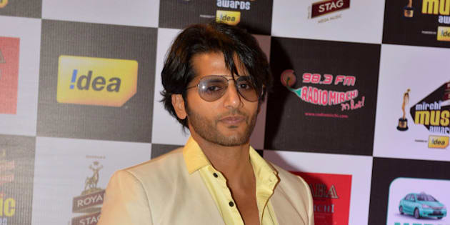 MUMBAI, INDIA  FEBRUARY 26: Karanvir Bohra at Mirchi music awards in Mumbai.(Photo by Milind Shelte/India Today Group/Getty Images)