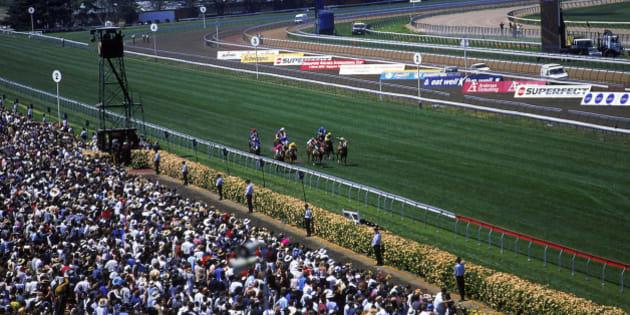 A race-Melbourne Cup, Victoria, Australia