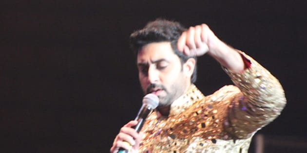 Abhishek Bachchan | SLAM The Tour - 20 September 2014 - IZOD Center, East Rutherford, New Jersey. Photo by James C. Dooley