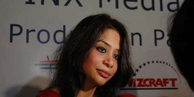 MUMBAI, INDIA - JULY 25: Indrani Mukerjea, Founder & CEO, INX Media Pvt. Ltd. during a press conference of INX Media Press Conference at Taj Lands End on July 25, 2007 in Mumbai, India. (Photo by Kedar Bhat/Mint via Getty Images)