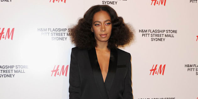 SYDNEY, AUSTRALIA - OCTOBER 29:  Solange Knowles arrives at the H&M Sydney Flagship Store VIP Party on October 29, 2015 in Sydney, Australia.  (Photo by Mark Sullivan/WireImage)