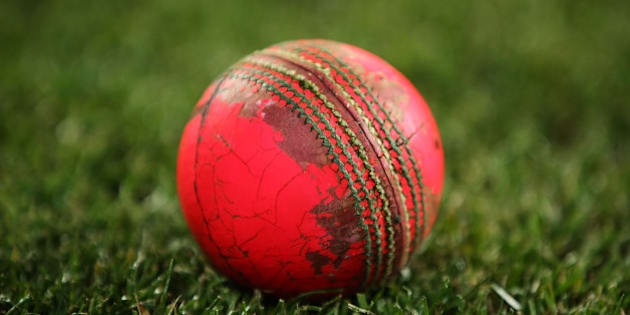 HOBART, AUSTRALIA - OCTOBER 28: A worn pink ball is seen at the conclusion of play following day one of the Sheffield Shield match between Tasmania and Western Australia at Blundstone Arena on October 28, 2015 in Hobart, Australia.  (Photo by Brendon Thorne/Getty Images)