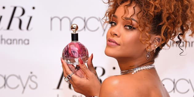 NEW YORK, NY - AUGUST 31:  Singer Rihanna attends the RiRi by Rihanna fragrance unveiling at Macy's Downtown Brooklyn on August 31, 2015 in New York City.  (Photo by Michael Loccisano/FilmMagic)