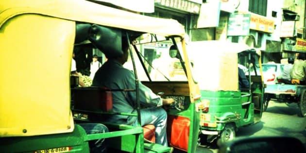 A bit more of Old Delhi.  I love the colors.   LOMO LC-A Kodak Ektachrome 100 Plus 5005 XProcessed
