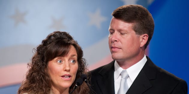 WASHINGTON - SEPTEMBER 17: Michelle Duggar and Jim Bob Duggar speak during the 5th Annual Values Voter Summit at the Omni Shoreham Hotel on September 17, 2010 in Washington, DC. (Photo by Kris Connor/WireImage)