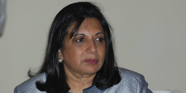 BENGALURU, INDIA  FEBRUARY 15: Kiran Mazumdar-Shaw, Chairman & Managing Director of Biocon Limited at Mint via Getty Images s Debate on forth coming budget on February 15, 2010 in Bengaluru, India Biocon is India's largest publicly traded biopharmaceutical company, which had $460 billion in revenue last year and distributes its products in 85 countries around the world. In 2014, Mazumdar-Shaw won the Chemical Heritage Foundation's Othmer Gold Medal for contributions to science through entrepreneurship, as well as Germany's Keihl Institute Global Economy Prize for achievements in business. She is listed as the 92nd most powerful woman in the world by Forbes. (Photo by Hemant Mishra/Mint)