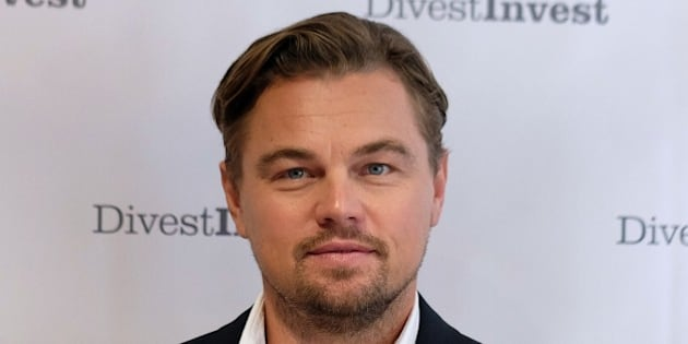 US actor Leonardo DiCaprio poses for photo after attending a press conference which announced further business divestment from fossil fuels in New York on September 22, 2015. AFP PHOTO/JEWEL SAMAD        (Photo credit should read JEWEL SAMAD/AFP/Getty Images)