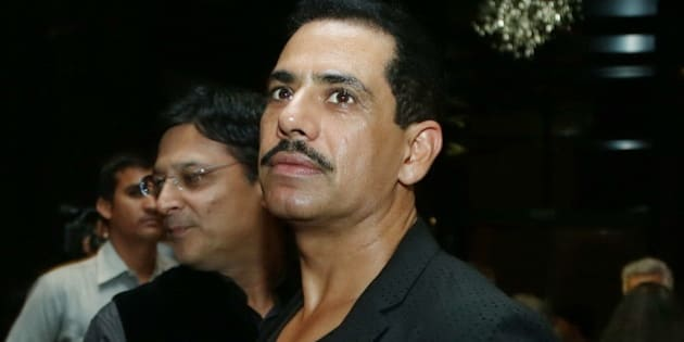 NEW DELHI, INDIA  NOVEMBER 1: Robert Vadra during a fashion show by Indian designer Payal Jain on November 1, 2014 in New Delhi, India. (Photo by Raakessh Kashyap/Hindustan Times via Getty Images)