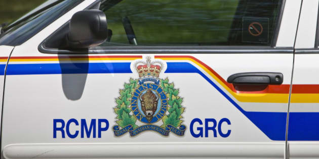 Police car at the RCMP Academy in Regina, Saskatchewan, Canada