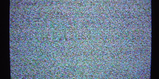photo of a Sony Trinitron TV CRT