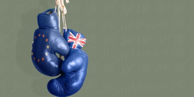 Brexit Symbol of the Referendum UK vs EU