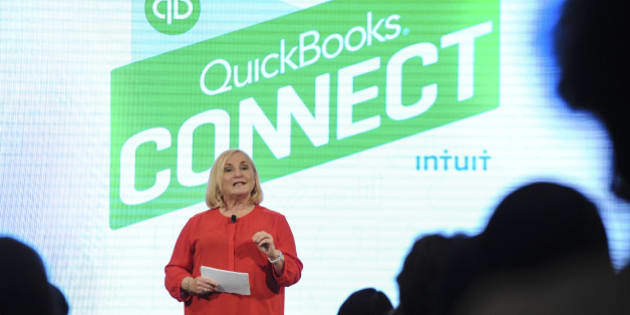 Main Stage speaker and USA Today columnist Rhonda Abrams delivers opening remarks during the QuickBooks Connect Atlanta event hosted at 200 Peachtree on Thursday, June 25, 2015 in Atlanta. #QBConnect (Photo by John Amis/Invision for QuickBooks/AP Images)