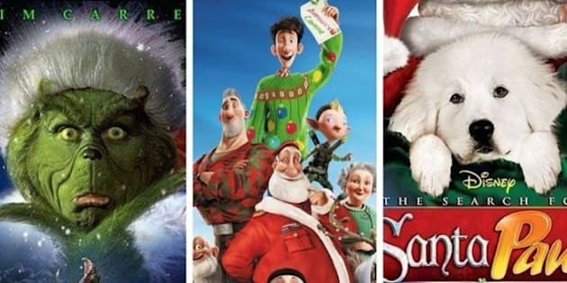 Get in the Christmas spirit with these family flicks!