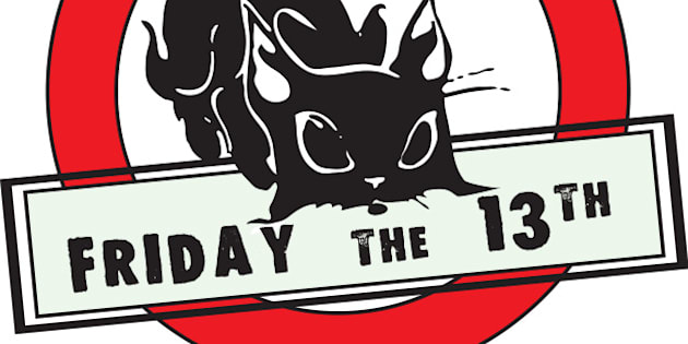 Friday the 13th - a symbol of failure - a black cat.
