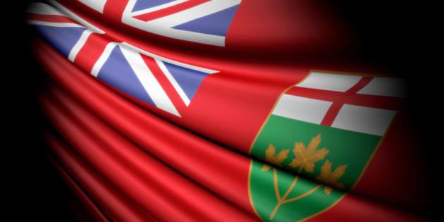 Flag of Ontario (Canada)