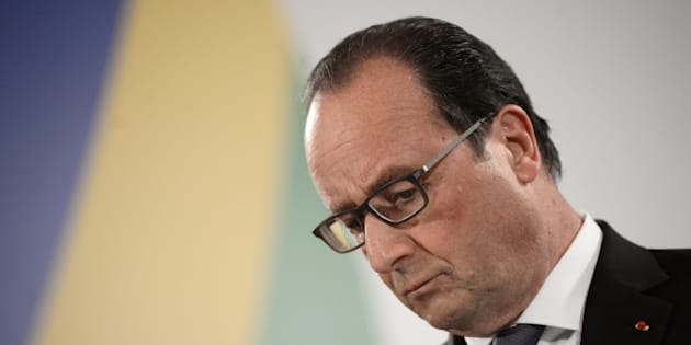 French President Francois Hollande gives a press conference after an Informal European Council meeting following the European Union - Africa Summit on Migration at the Meditterranean Conference Center, on November 12, 2015 in La Valletta. EU leaders attending a summit with their African counterparts today approved a 1.8-billion-euro trust fund for Africa aimed at tackling the root causes of mass migration to Europe.  AFP PHOTO / STEPHANE DE SAKUTIN        (Photo credit should read STEPHANE DE SAKUTIN/AFP/Getty Images)