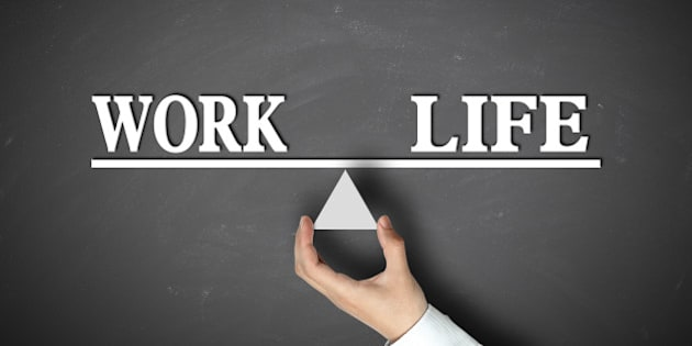 work life balance concept with...
