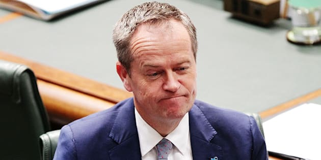 CANBERRA, AUSTRALIA - SEPTEMBER 16:  Leader of the Opposition Bill Shorten during House of Representatives question time at Parliament House on September 16, 2015 in Canberra, Australia. Malcolm Turnbull was sworn in as Prime Minister of Australia on Tuesday, replacing Tony Abbott following a leadership ballot on Monday night.  (Photo by Stefan Postles/Getty Images)