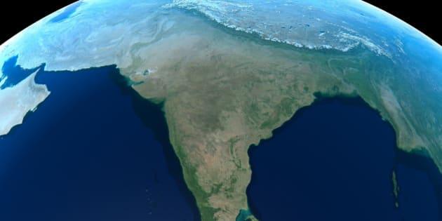 Earth - India & Asia