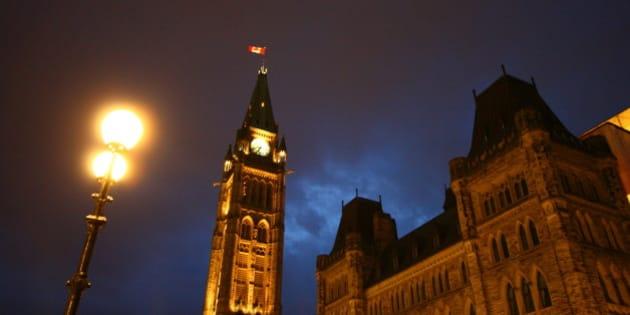 Ottawa Parliament night shot