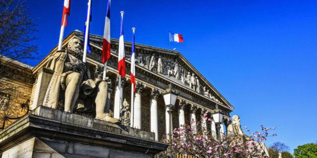 'Palais Bourbon' in Paris, France