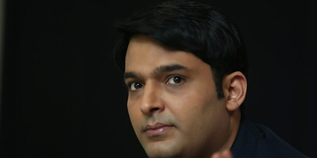 NEW DELHI, INDIA - JULY 8: Stand-up comedian Kapil Sharma during an interview on July 5, 2014 in New Delhi, India. Winner of popular comedy shows, Kapil Sharma now hosts the television comedy show 'Comedy Nights with Kapil'.(Photo by Raajessh Kashyap/Hindustan Times via Getty Images)
