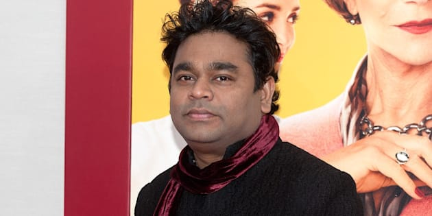 NEW YORK, NY - AUGUST 04:  Composer A.R. Rahman attends 'The Hundred-Foot Journey' New York premiere at the Ziegfeld Theater on August 4, 2014 in New York City.  (Photo by D Dipasupil/FilmMagic)