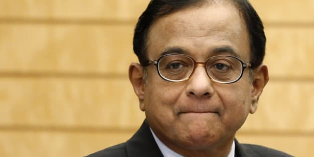 India's Finance Minister Palaniappan Chidambaram waits for arrival of Japan's Prime Minister Shinzo Abe before their meeting at Abe's official residence in Tokyo Monday, April 1, 2013. Chidambaram arrived in Japan Monday for a three-day visit. (AP Photo/Issei Kato, Pool)