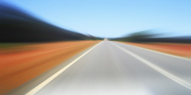 Defocused road
