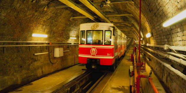 Middle East, Turkey, Istanbul, View of underground train. (Photo by: JTB Photo/UIG via Getty Images)