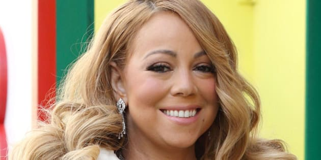 Mariah Carey participates in the Macy's Thanksgiving Day Parade on Thursday, Nov. 26, 2015, in New York. (Photo by Greg Allen/Invision/AP)