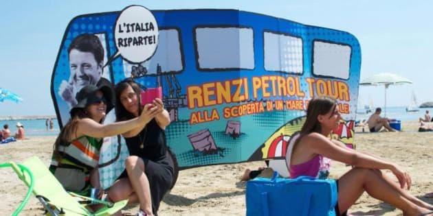 Petrolio. Matteo Renzi vuole evitare il referendum no triv: mandato alla Guidi per rivedere lo Sblocca Italia